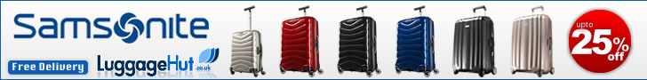 Samsonite luggagehut.co.uk